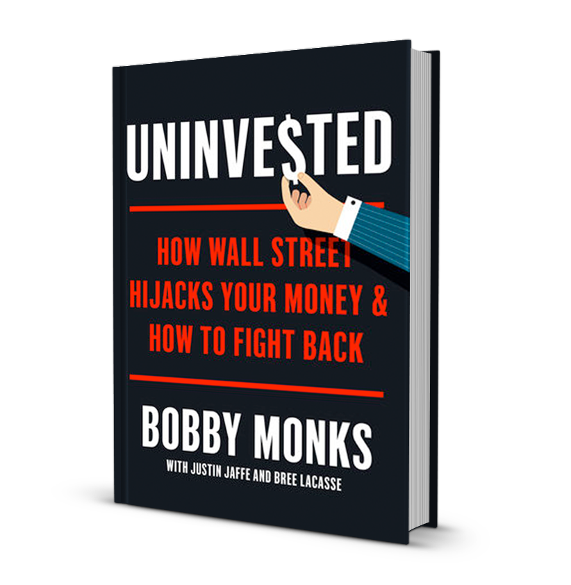 Uninvested Book 3D